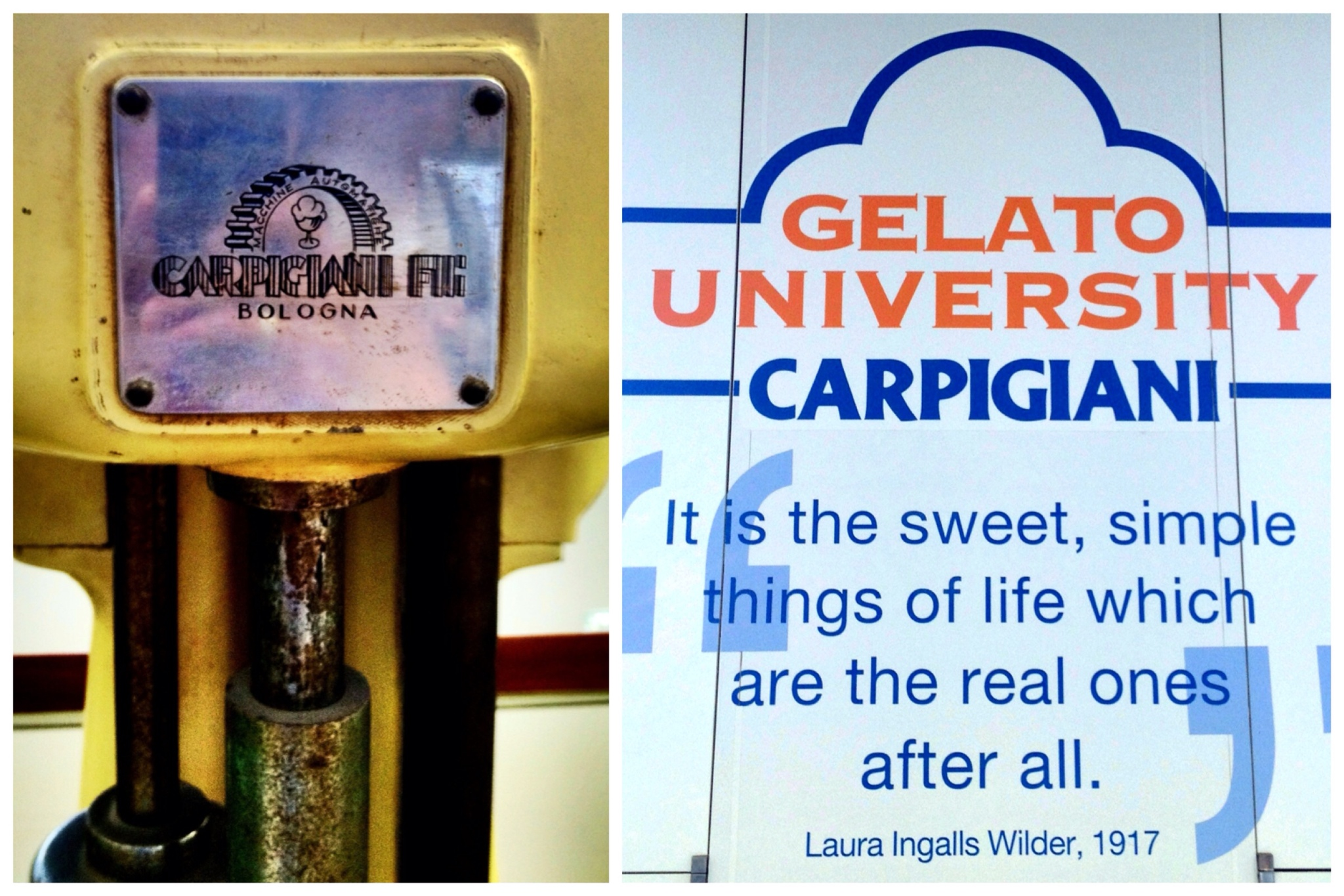 Gelato University Carpigiani, Bologna Italy