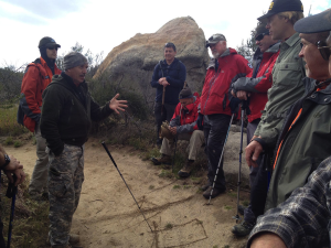 RMRU Search and Rescue Tracking Training: Tracking Exercises