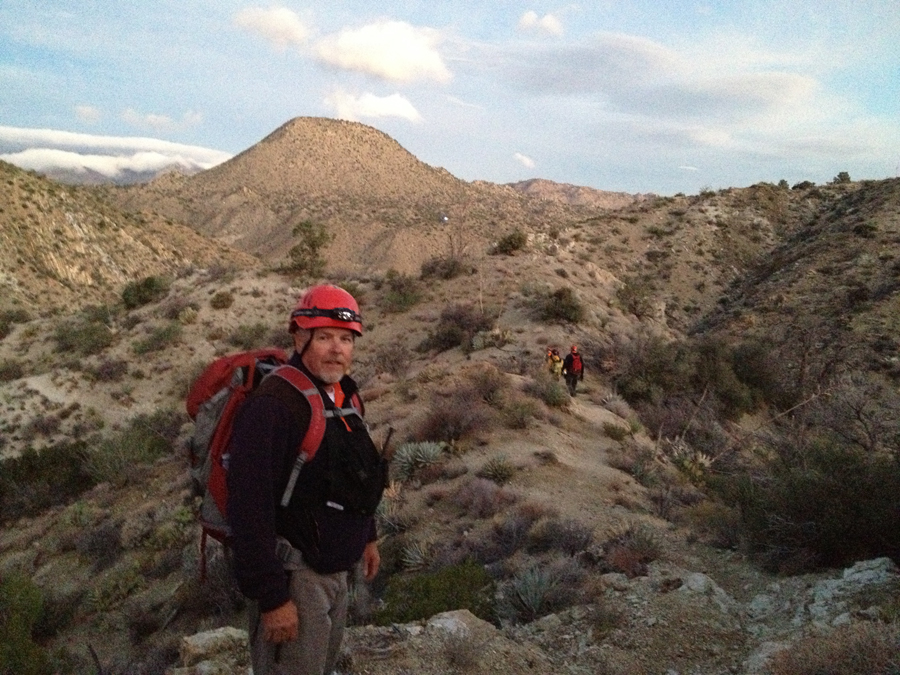 Craig Wills on Trail: Cactus Spring Search