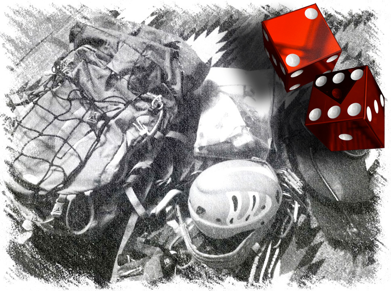 Gambling with your Backpacking gear: Should you really bring all your 10 essentials?