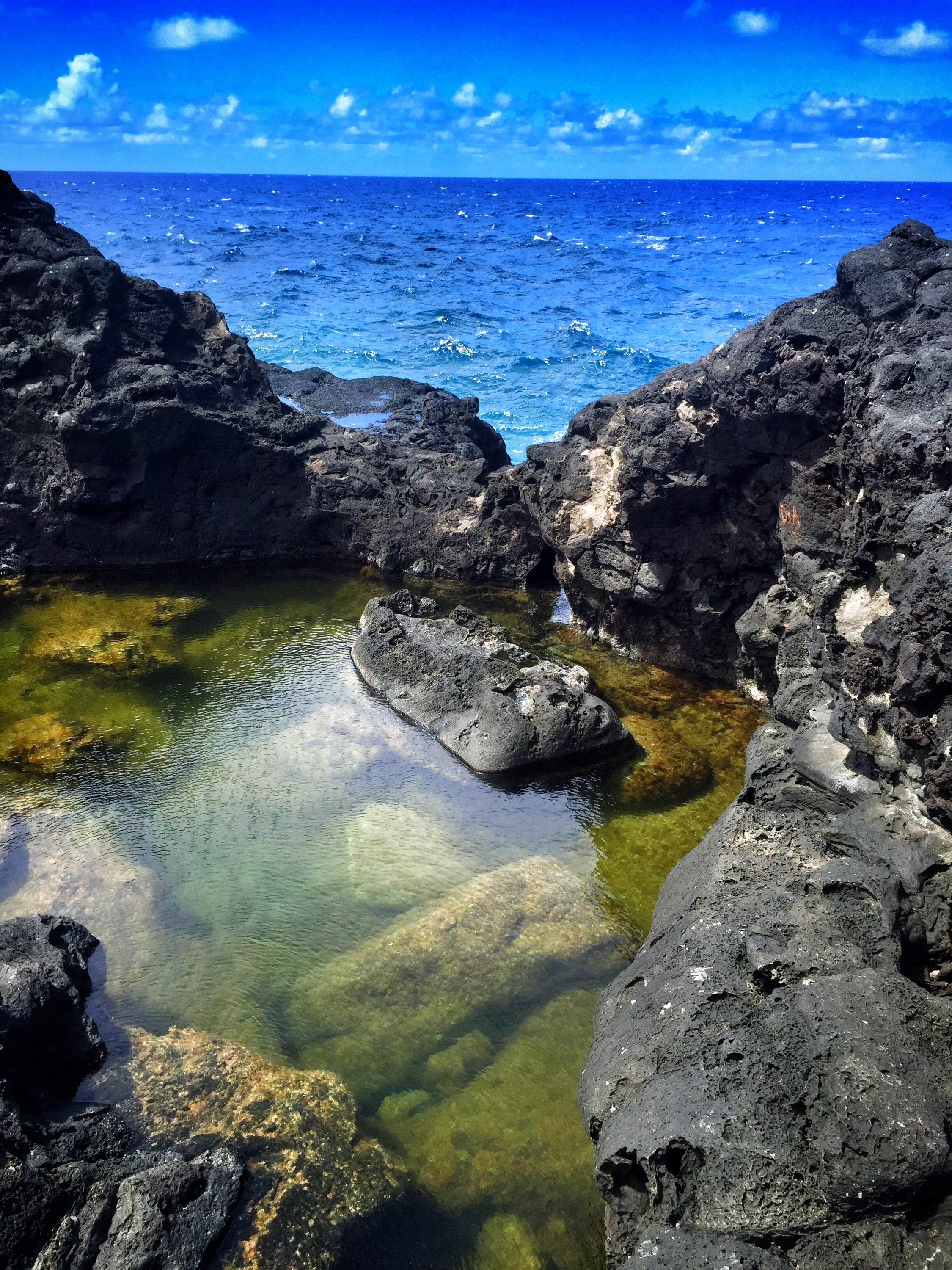 Olivene Tide Pools, Maui