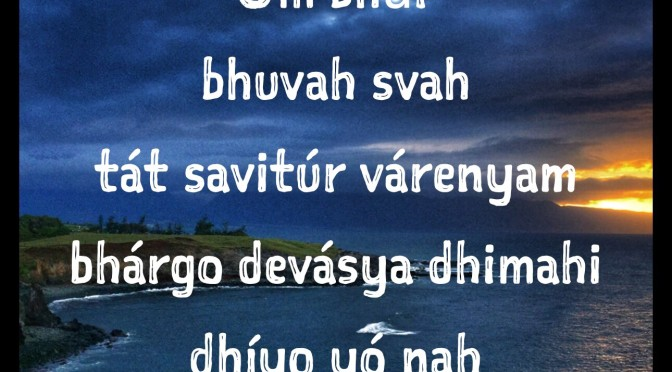 Gayatri Mantra: Chant Your Heart Out!